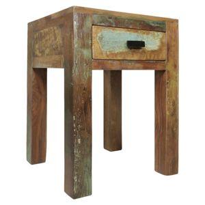 Noční stolek Z Mangového Dřeva kalkutta