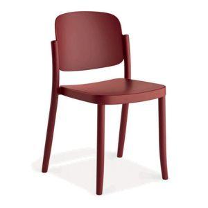 Plastová stolička Plaza Fialová