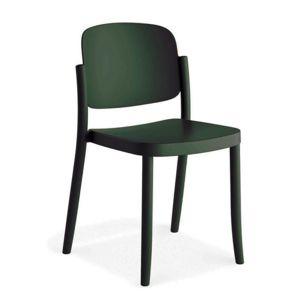 Plastová Židle Plaza Zelená