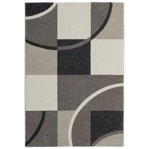 Tkaný koberec Palermo 2, 120/170cm, Šedá