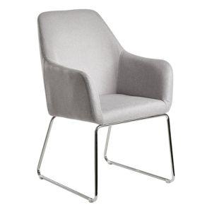 Židle s Opěrkou Esszimmerstuhl Šedá